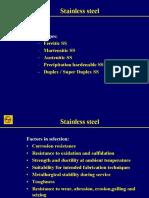 Metallurgy of STAINLESS Steel