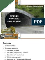 Tuneles CaracterIsticas de Los Concretos en Tuneles PDF