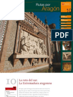 Balnearios Aragon folletos turisticos Cariñena