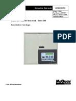 McQUAY- OM 200MICRO Painel de Controle