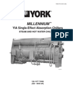 YORK - Chiller Millenium - 120 a 1377 Tons