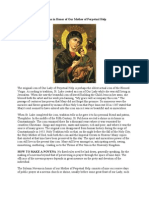 Our Mother of Perpetual Help-Novena