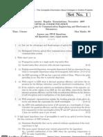 07 Rr410404 Optical Communication