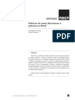 AÇÕES AFIRMATIVAS. Políticas de Ações Afirmativas e Pobreza No Brasil