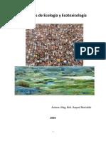 Ecología y Principos de Ecotoxicología