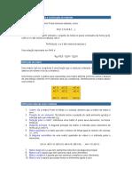 Elementos Básicos Para a Construção de Matrizes