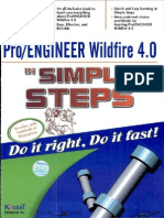 8177224379 Pro_Engineer Wildfire 4.0 in Simple Steps