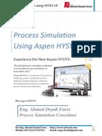 process Simulation using HYSYS  V8