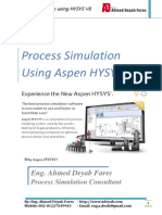 process Simulation using HYSYS  V8