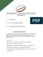 La Contaminacion Sonora y Los Efectos Psicologicos en El Ser Humano