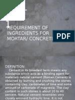 CEMENT-concrete