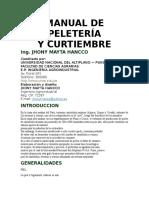Manual de Peletería