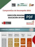 Semáforo Escuela CdD2016 Apurímac