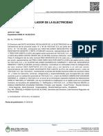 Boletín Oficial-ENRE
