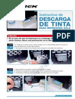 Descarga Tinta Solo-impresora