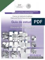 Subdirector Académico - Guía de Estudio