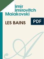 Maiakovski Les Bains