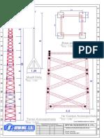 Modelo de Un Pararrayos Sobre Torre Autosoportada