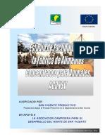 Estudio Factibilidad Fabrica Concentrados Acdnsv