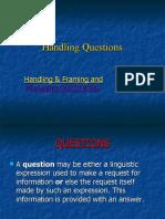 Handling- Questions