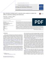 Learning and Individual Differences Volume 45 Issue 2016 [Doi 10.1016%2Fj.lindif.2015.11.012] Peng, Peng; Miller, Amanda C. -- Does Attention Training Work a Selective Meta-Analysis to Explore the Eff