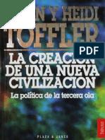 Toffler Alvin. La Creacion de la Nueva Civilizacion.pdf