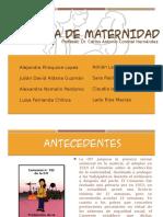 Ley de maternidad en Colombia