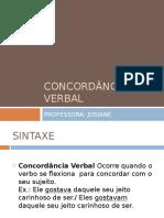 Análise sistemática das concordâncias entre os verbos da língua portuguesa