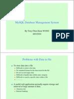 Ch.8a Mysql Database