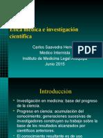 Ética Médica Investigacion 2015