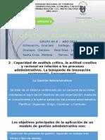 Presentación Gestión Administrativa - Grupo 8