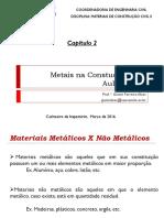 O uso de Metais na Construção Civil 1 de 2