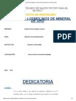 Proyectos de Investigacion Mecanica_ Descargar Proyecto de Molinos de Bola