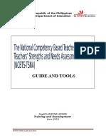 NCBTS TSNA Guide and Tools July V2010