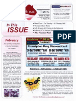 HEALTHY HOME TIMES FEBRUARY 2010 NEWSLETTER