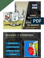 Curso Bloqueo y Etiquetado de Avisos