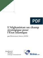 2015-09int L'Afghanistan Un Champ Stratégique Pour l'État Islamique