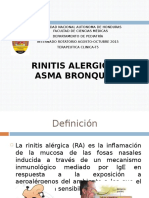 Asma y rinitis alergica