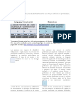 Niveles de Logro en Lenguaje y Comunicación1