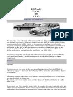 1995 Volvo 850 Owner's Manual