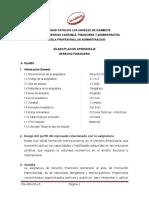 FINANCIERO ADMINISTRACION