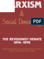 Marxism and Social Democracy the Revisionist Debate 1896 1898