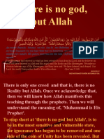 There is No God, But Allah