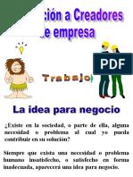 Formacion a Creadores de Empresa