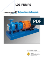 3Polymer Concrete Baseplate