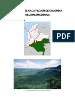 Paisajes de Cada Region de Colombia