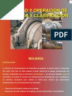 Proceso y Operacion de Molienda y Clasificación