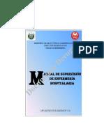 Manual de Supervisión de Enf. Hospitalaria