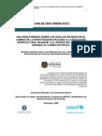 ARTICULO Final de JDSS Para La Sistematizacion Del C Investigacion Aplicada de EIBAMAZ 2005-2009