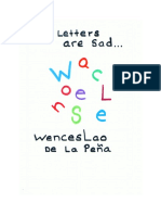 my letters are sad  wenceslao de la pena   1